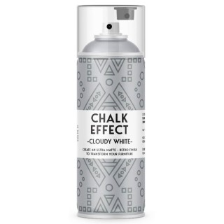Χρώμα Κιμωλίας σε Σπρευ Chalk Effect 400ml Cloudy White