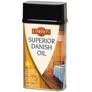 Λάδι που τρέφει και προστατεύει με πρόσθετο φίλτρο UV LIBERON SUPERIOR DANISH OIL 500ml