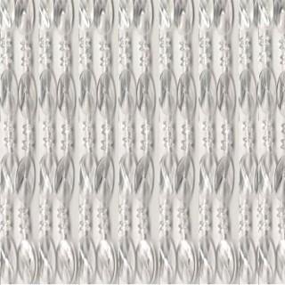 Κουρτίνα Πόρτας Χάντρα Διάφανη 100×220εκ