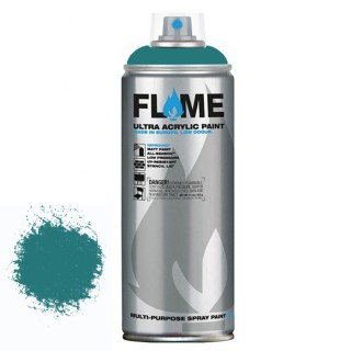 Σπρεί ακρυλικό χρώμα Χαμηλής πίεσης γενικής χρήσης Flame Blue FB606 Ocean Blue - 400ml