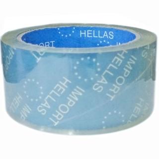 Ταινία Αυτοκόλλητη πολυαιθυλενίου Διάφανη Δεμάτων 50mm x 60m Import Hellas