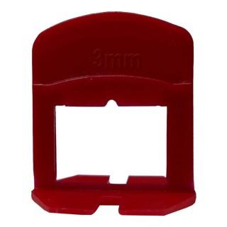 Αποστάτες Αλφαδιάσματος Πλακιδίων Andal S.A.P.3 Κόκκινοι 3mm Σε Σακούλα των 250 Τεμαχίων