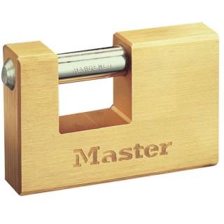 Λουκέτο Τάκος απο συμπαγή μπρούτζο 63mm με ατσάλινο λαιμό Master Lock 606EURD