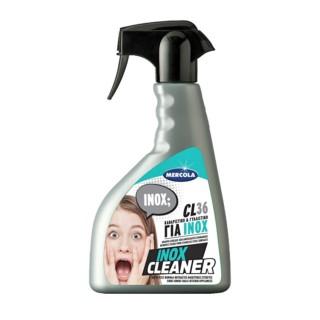 Ειδικό καθαριστικό και γυαλιστικό ανοξείδωτων επιφανειών σε Spray 500ml