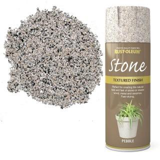 Χρώμα σε Σπρέι για την δημιουργία εφέ Αληθινής Πέτρας σε Pebble υφή Rust-Oleum Stone 400ml