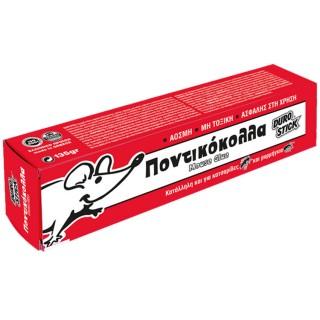 Κόλλα για ποντίκια Άοσμη κατάλληλη και για κατσαρίδες και μυρμήγκια 135gr