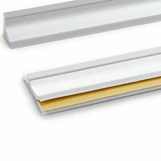 Αρμοκάλυπτο Πάγκου Πλαστικό Rehau Slim-Line Σε Χρώμα Inox - Πώληση με το Μέτρο