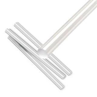 Διάφανη θερμόκολλα σιλικόνη κατάλληλη για χρήση σε θερμοκολλητικά πιστόλια 11.2x30cm 1τεμ.