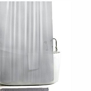 Κουρτίνα μπάνιου Σιλικόνης Τρισδιάστατη Πλάτος 180 x Ύψος 200cm