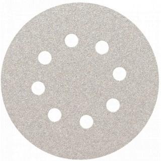 Λειαντικός Δίσκος Χράτς Velkro Ø125mm γενικής χρήσης  με 8 τρύπες (σε 16 διαφορετικά είδη Κοκκομετρίας) Smirdex510