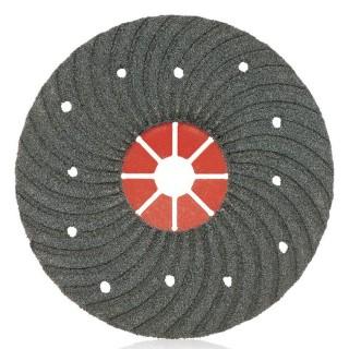 Λειαντικοί ΔίσκοιSuper Φιμπερ Ø180mm με τρύπες για λείανση Μπετού  (σε 3 διαφορετικά είδη Κοκκομετρίας) Smirdex935