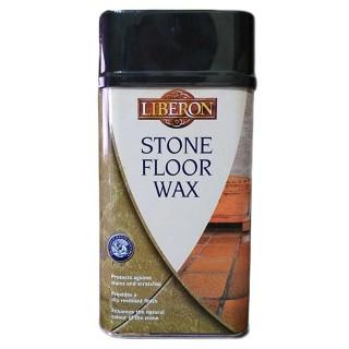 Γυαλιστικό - Προστατευτικό - Αντιολισθητικό Κερί Άχρωμο Stone Floor Wax 1lt.