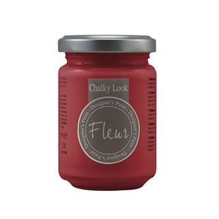 Χρώμα Κιμωλίας Fleur Chalky Look 130ml, F27 Tomato Red 12029
