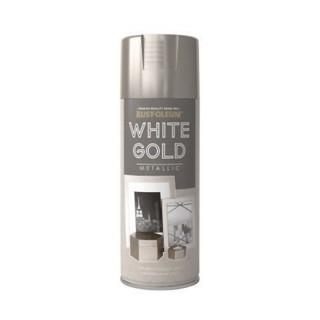 Μεταλλικό Χρώμα White Gold Rust-Oleum 400ml
