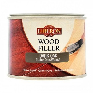 Ξυλόστοκος γενικής χρήσης με βάση το νερό Δρύς Σκούρα απόχρωση WOOD FILLER LIBERON 125ml