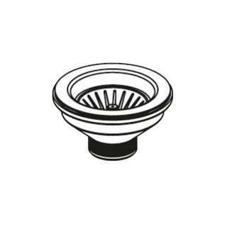 Βαλβίδα ∅92 (με μακριά βίδα) για Γρανιτένιους Νεροχύτες  Pyramis 521001001