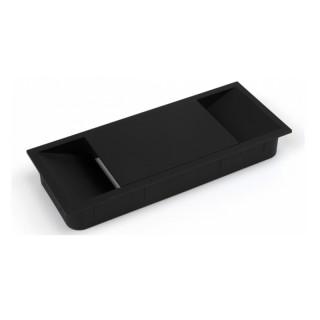 Τάπα καλωδίων Emuca 5012614 Μαύρο