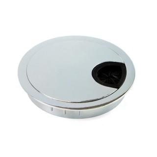 Τάπα καλωδίων Circum Φ60 Emuca 5006711  Χρωμέ