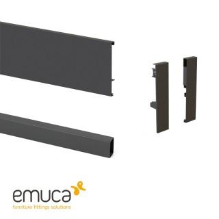 Σετ εξαρτημάτων για εσωτερικό συρτάρι Emuca Concept 18.5cm 3113435-3113335-3113223