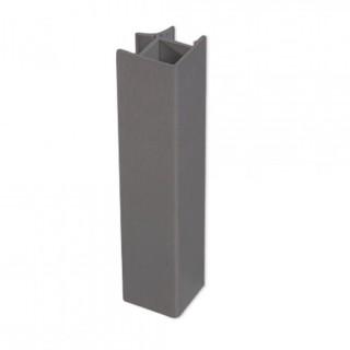 Γωνία Αλουμινίου σύνδεσης Μπάζας Emuca 8011623 10cm