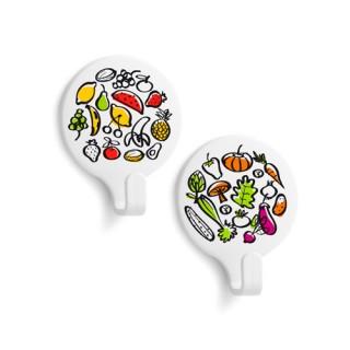 Αυτοκόλλητα κρεμαστράκια με σχέδιο Φρούτα Inofix 2170 - 2τμχ