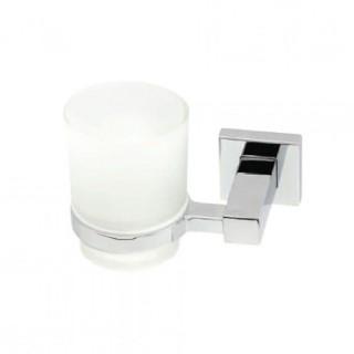 Επίτοιχη ποτηροθήκη μπάνιου Import 3184 Νίκελ