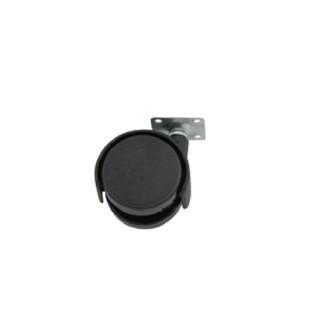 Ρόδα επίπλου G026/50mm Μαύρη