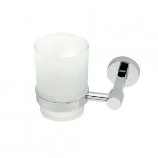 Επίτοιχη ποτηροθήκη μπάνιου Import 4184 Νίκελ