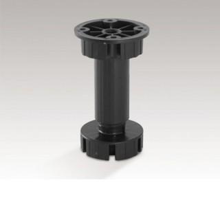 Πλαστικό πόδι κουζίνας Opes 550 15cm Μαύρο