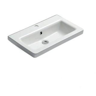Νιπτήρας μπάνιου σε λευκό χρώμα Bianco Urban 35060