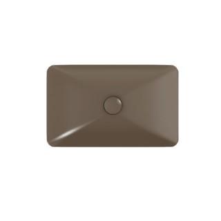 Νιπτήρας μπάνιου σε taupe ματ χρώμα Bianco-Rio 60 x 37,7εκ. 38060-530