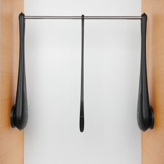 Ασανσέρ Ντουλάπας Servetto Only Μαύρο Μήκος 73-119cm