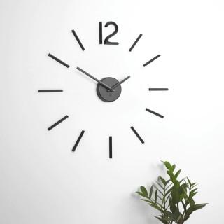 Ρολόι Τοίχου Umbra 1005400-040 Μαύρο με αθόρυβο μηχανισμό
