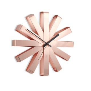 Ρολόι Τοίχου Umbra 118070-880 Χρώμα Χαλκός με αθόρυβο μηχανισμό
