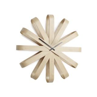 Ξύλινο Ρολόι Τοίχου Umbra 118071-390- με αθόρυβο μηχανισμό