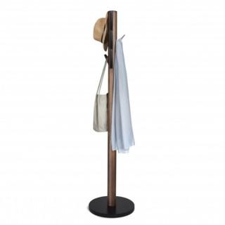 Καλόγερος ρούχων Umbra 320361-048 με Συνδυασμό Ξύλου - Μετάλλου/Μαύρο