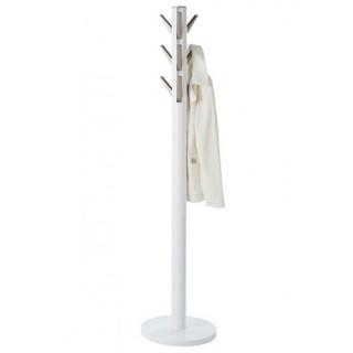 Καλόγερος ρούχων Umbra 320361-660 με Συνδυασμό Ξύλου - Μετάλλου σε Λευκό