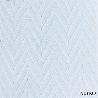 Κάθετη Περσίδα Υφασμάτινη με Πλάτος Φύλλου 8,9cm 48100