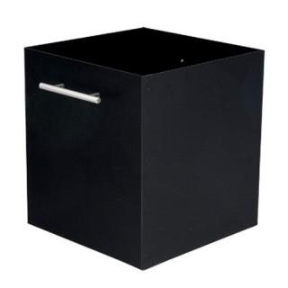 Μεταλλική ξυλιέρα τζακιού Viometal 1040 ΡΟΥΕΝ Μαύρο χρώμα