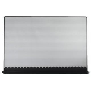 Μεταλλική Κάλυψη τζακιού Viometal 580 Ορλεάνη Μαύρο χρώμα 54x84cm