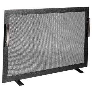 Μεταλλική Κάλυψη τζακιού Viometal 570 Τουλούζη Μαύρο χρώμα 53x80cm