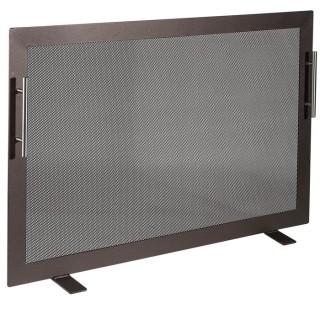 Μεταλλική Κάλυψη τζακιού Viometal 570 Τουλούζη Χρώμα σκουριά 53x80cm