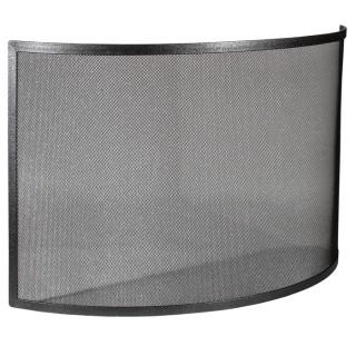 Μεταλλική Κάλυψη τζακιού Viometal 550 Ανόβερο Μαύρο χρώμα 53x80cm