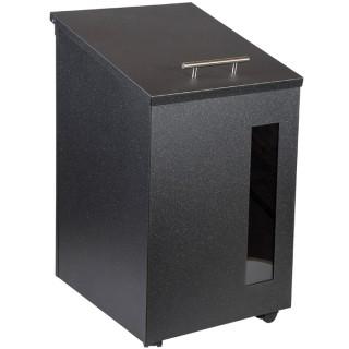 Μεταλλικό κουτί φύλαξης πέλλετ 1077 Όρεγκον Viometal Μαύρο χρώμα
