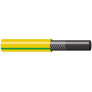 """Λάστιχο Ποτίσματος Tsaleras Πλεκτός Κίτρινος 5/8"""" – 16mm 335058 Ενισχυμένος από Πολυεστερική Πλέξη 15m"""