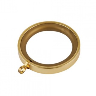 Κρίκος κουρτινόβεργας 0228 Zωγομεταλ Φ25 Χρυσό Γυαλιστερό