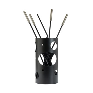 Εργαλεία με Κουβά Ζωγομετάλ K30-1230 σε Μαύρο-Νίκελ Ματ