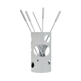 Εργαλεία με Κουβά Ζωγομετάλ K30-1230 σε Λευκό Πάγου