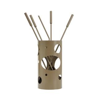 Εργαλεία με Κουβά Ζωγομετάλ K30-1230 σε Καφέ Ελιάς