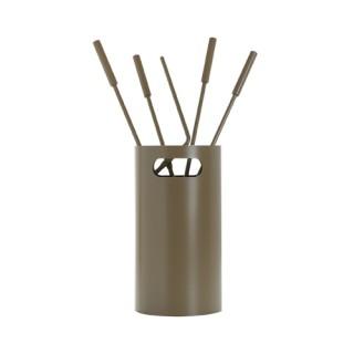Εργαλεία με Κουβά Ζωγομετάλ K32-1230 σε Καφέ Ελιάς